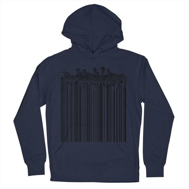 zebra barcode Men's Pullover Hoody by filsoofdesigns's Artist Shop