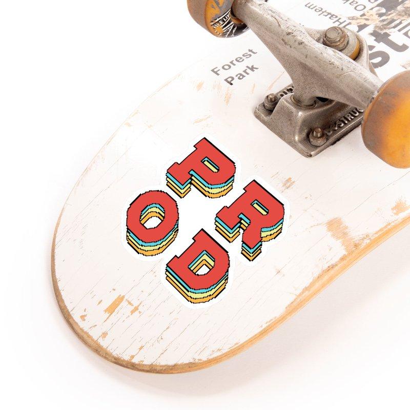 PROD Show logo Accessories Sticker by FinalRender Shop