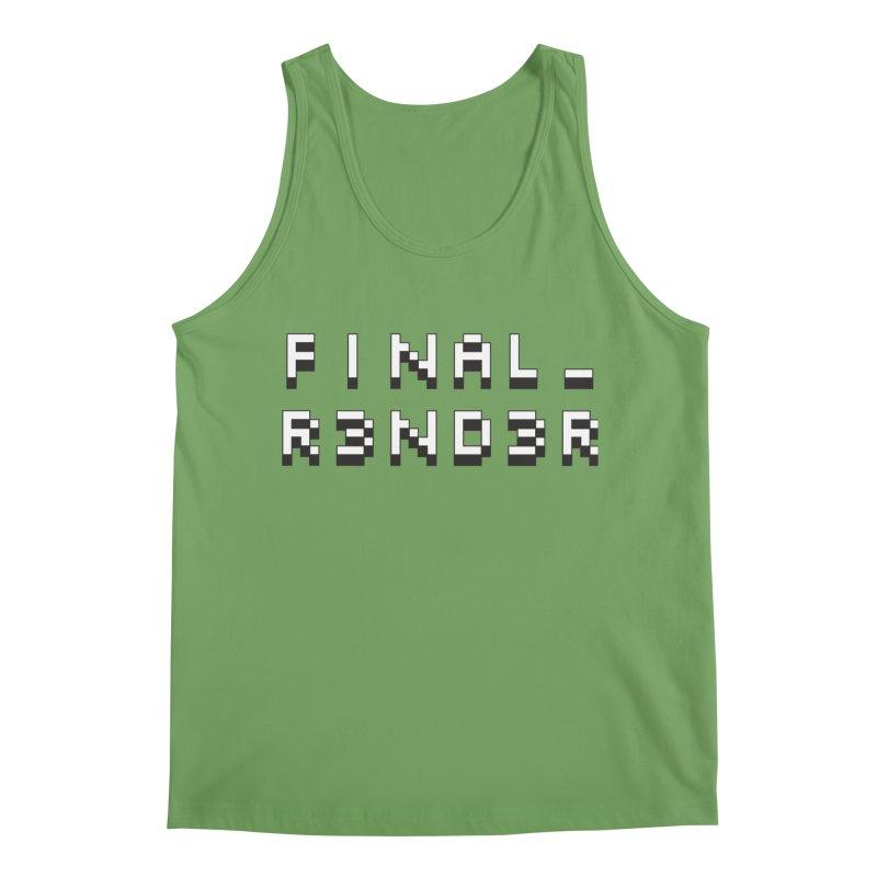 FINAL_R3ND3R logo Men's Tank by FinalRender Shop