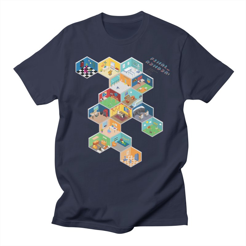 Isometric Rooms Women's T-Shirt by FinalRender Shop