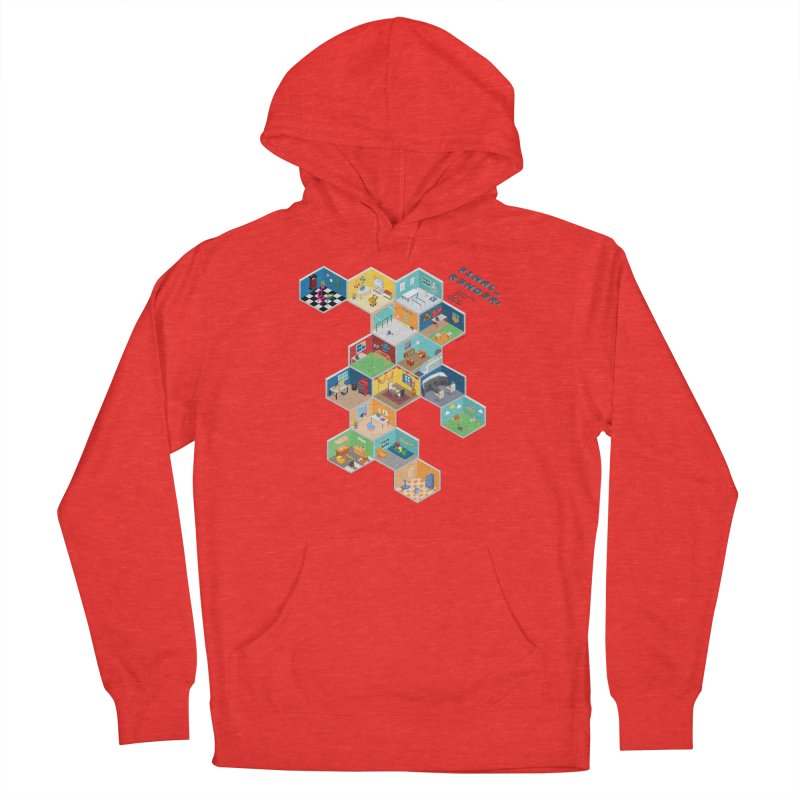 Isometric Rooms Men's Pullover Hoody by FinalRender Shop