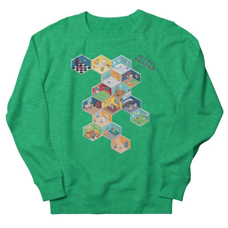 Isometric Rooms Women's Sweatshirt by FinalRender Shop