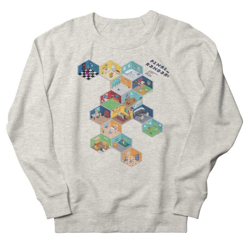 Isometric Rooms Men's Sweatshirt by FinalRender Shop
