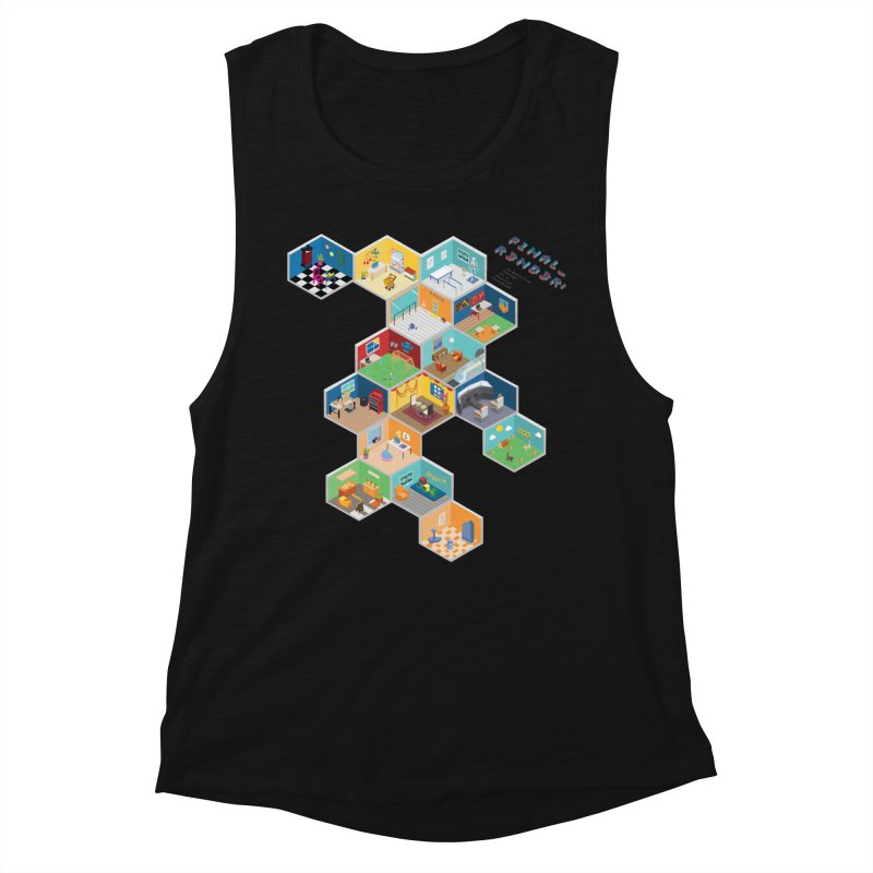 Isometric Rooms Women's Tank by FinalRender Shop