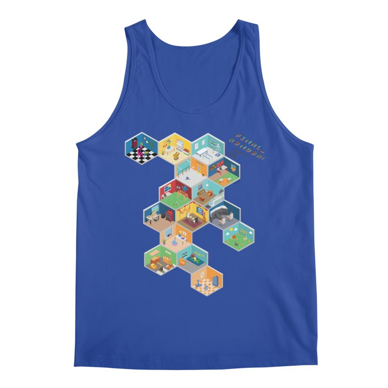 Isometric Rooms Men's Tank by FinalRender Shop