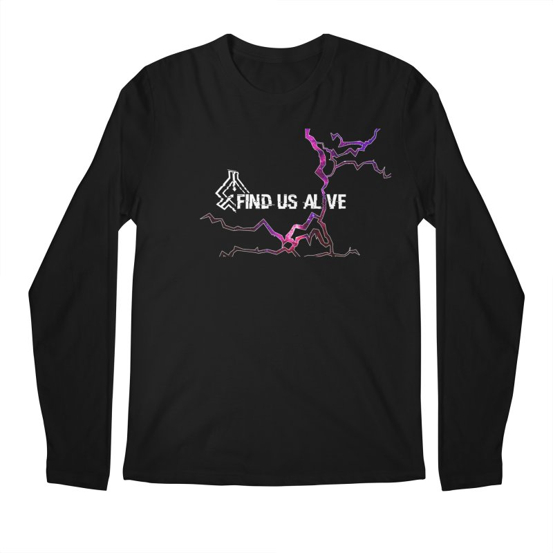 Find Us Alive Cover Men's Longsleeve T-Shirt by Find Us Alive Official Merch