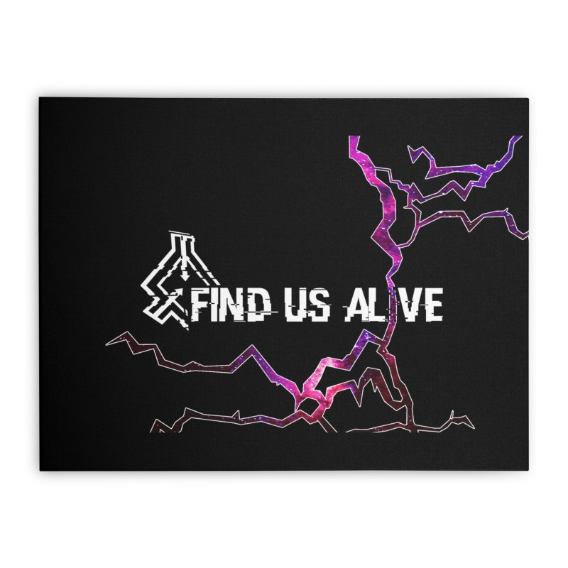 Find Us Alive Cover Home Stretched Canvas by Find Us Alive Official Merch