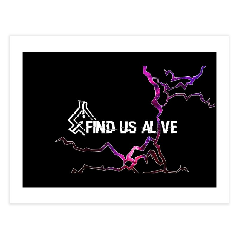 Find Us Alive Cover Home Fine Art Print by Find Us Alive Official Merch