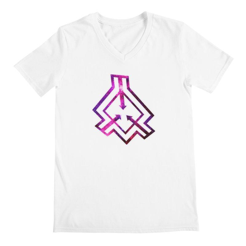 Rift Logo Men's V-Neck by Find Us Alive Official Merch