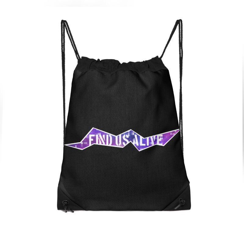 Pixel Rift Title Accessories Bag by Find Us Alive Official Merch