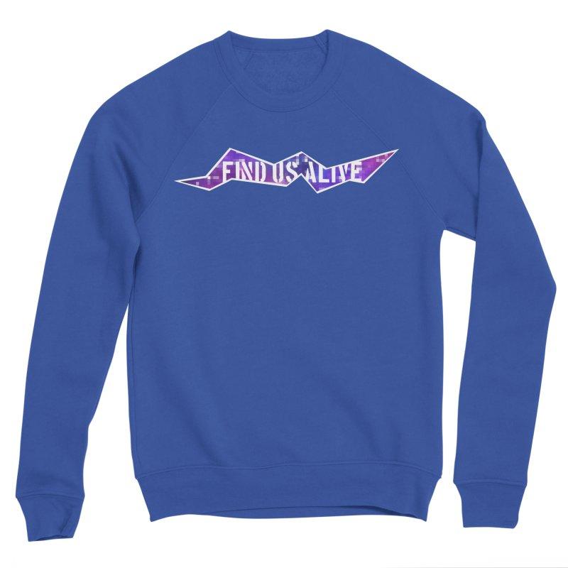Pixel Rift Title Men's Sweatshirt by Find Us Alive Official Merch