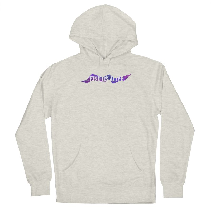 Pixel Rift Title Women's Pullover Hoody by Find Us Alive Official Merch