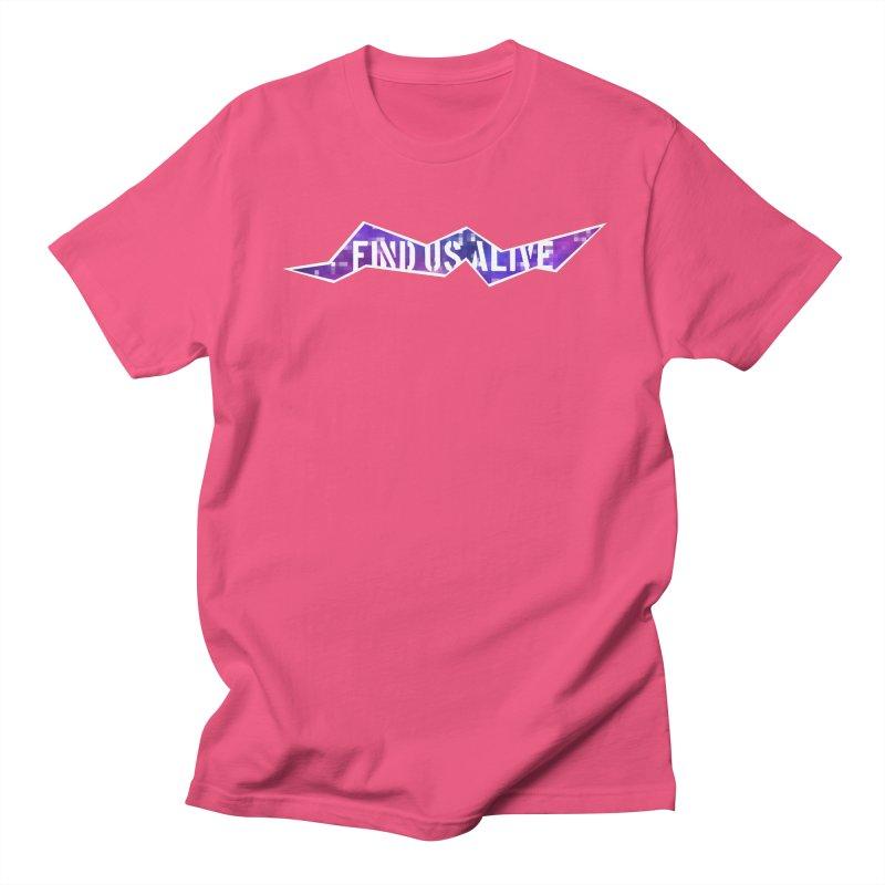 Pixel Rift Title Men's T-Shirt by Find Us Alive Official Merch