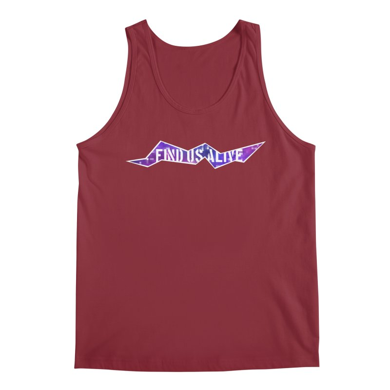Pixel Rift Title Men's Tank by Find Us Alive Official Merch