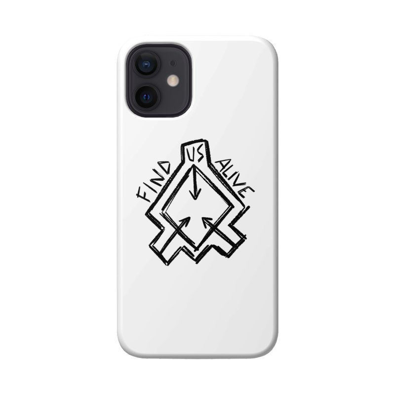 Sketchy Logo Black Accessories Phone Case by Find Us Alive Official Merch