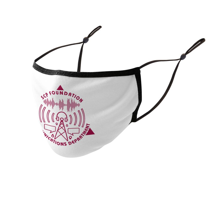 SCP Communications Department Accessories Face Mask by Find Us Alive Official Merch