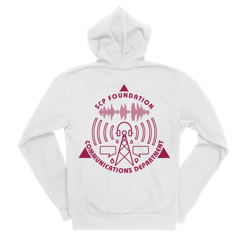SCP Communications Department Men's Zip-Up Hoody by Find Us Alive Official Merch