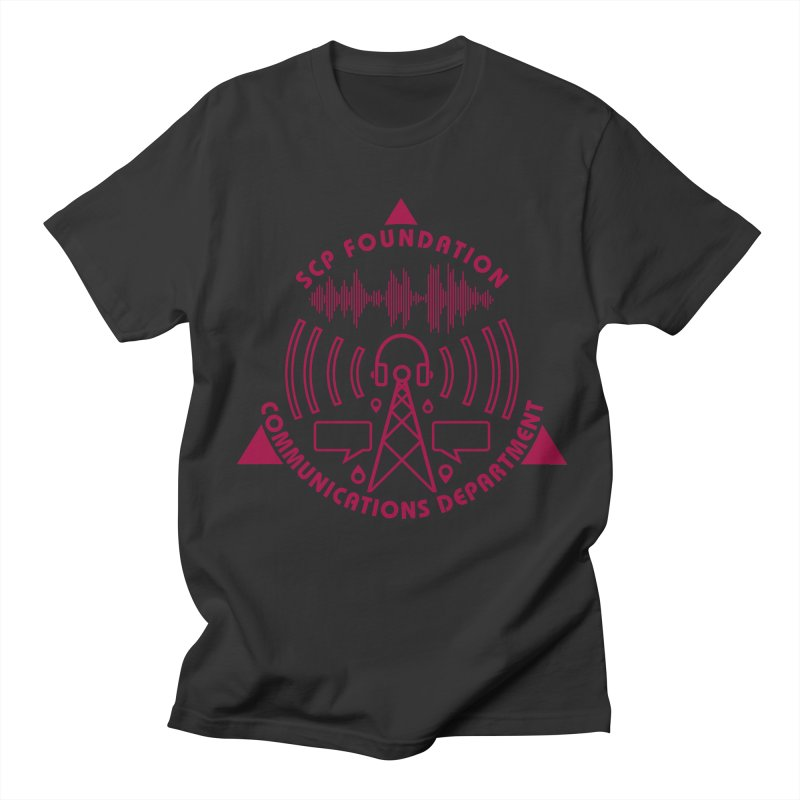 SCP Communications Department Men's T-Shirt by Find Us Alive Official Merch