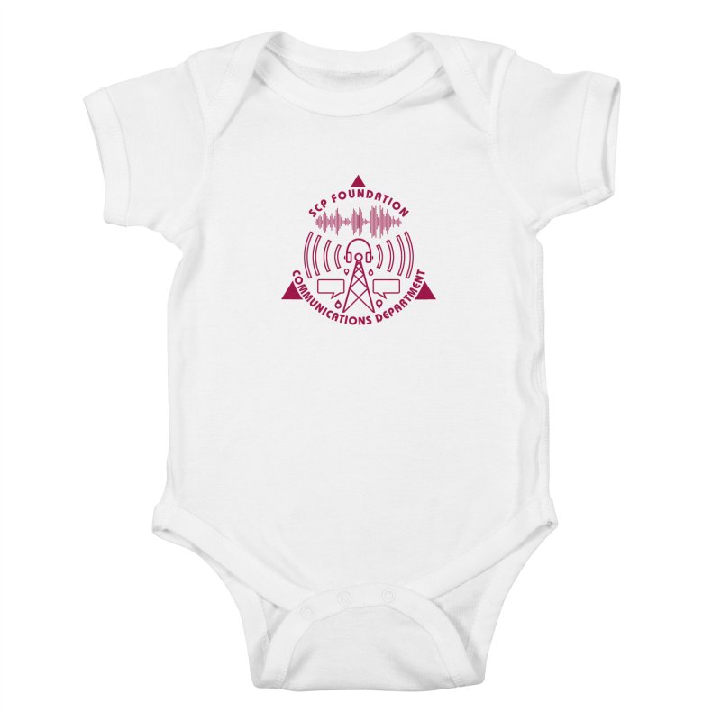 SCP Communications Department Kids Baby Bodysuit by Find Us Alive Official Merch
