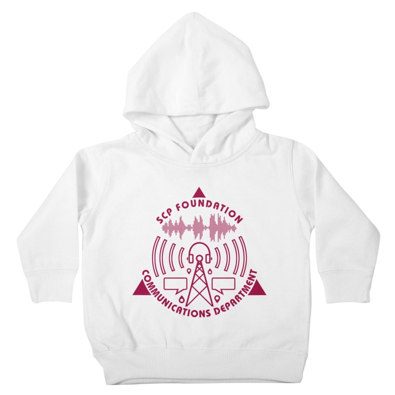 SCP Communications Department Kids Toddler Pullover Hoody by Find Us Alive Official Merch