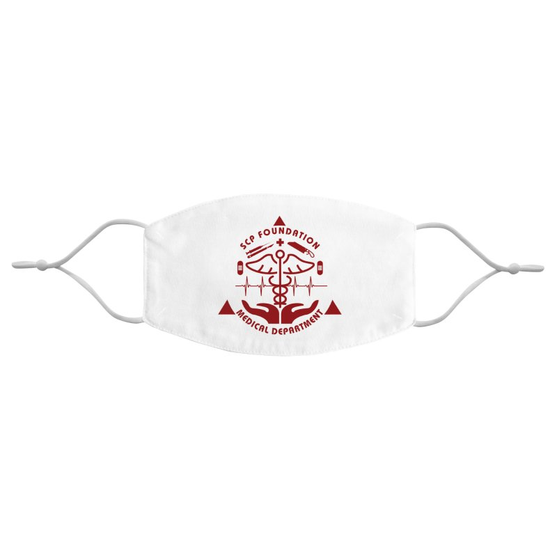 SCP Medical Department Accessories Face Mask by Find Us Alive Official Merch