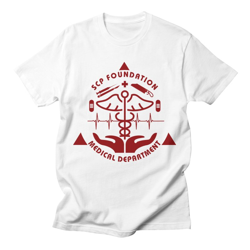 SCP Medical Department Men's T-Shirt by Find Us Alive Official Merch
