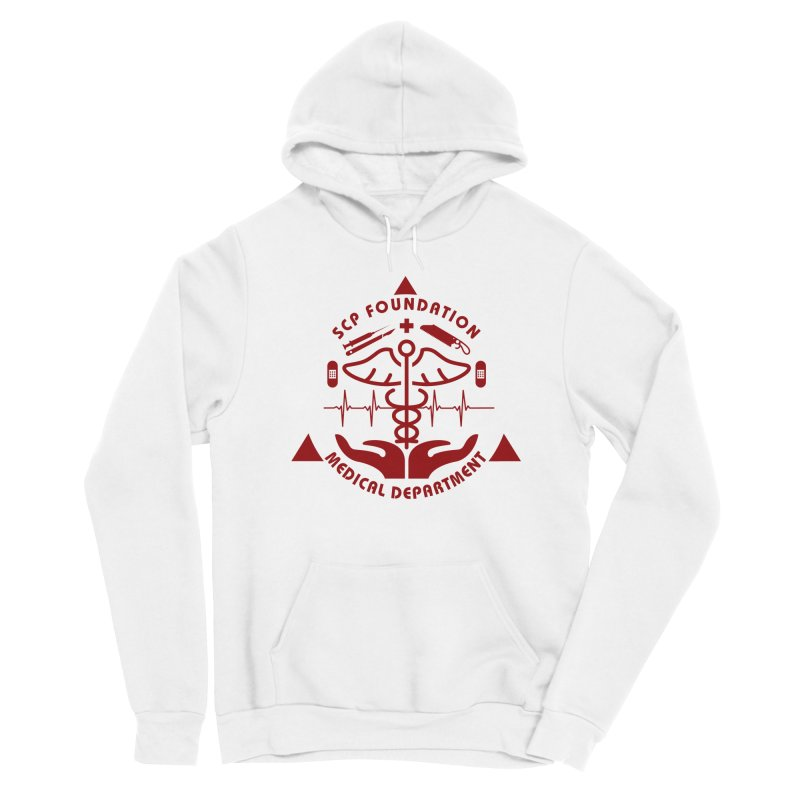 SCP Medical Department Men's Pullover Hoody by Find Us Alive Official Merch