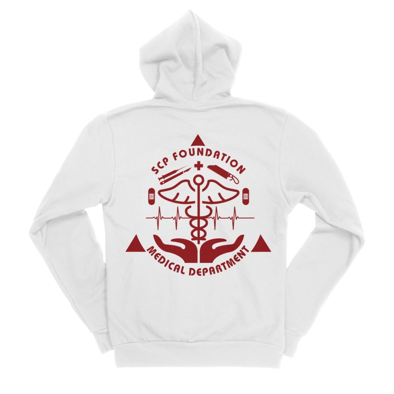 SCP Medical Department Women's Zip-Up Hoody by Find Us Alive Official Merch