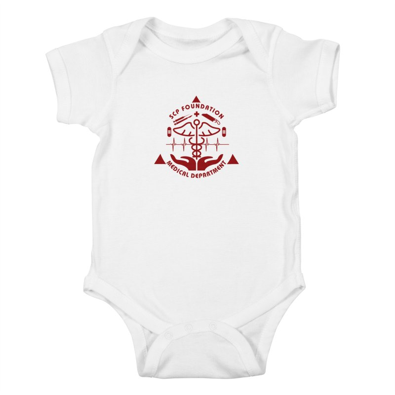 SCP Medical Department Kids Baby Bodysuit by Find Us Alive Official Merch
