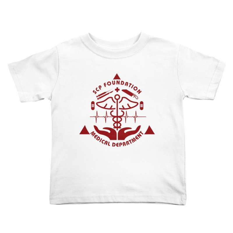 SCP Medical Department Kids Toddler T-Shirt by Find Us Alive Official Merch