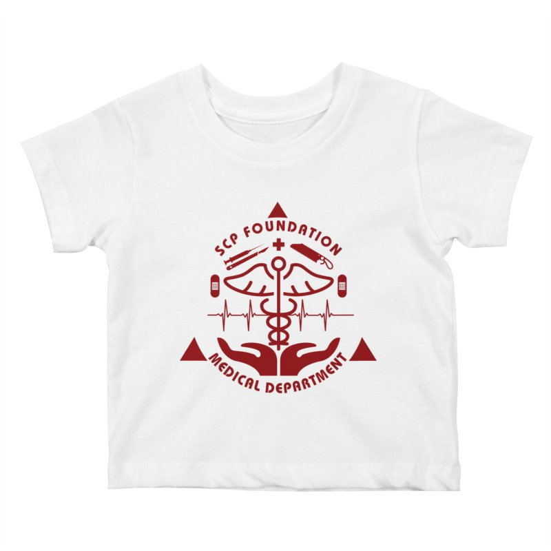 SCP Medical Department Kids Baby T-Shirt by Find Us Alive Official Merch