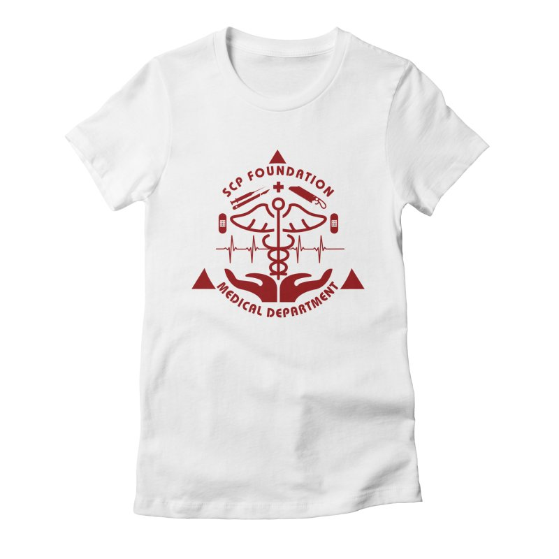 SCP Medical Department Women's T-Shirt by Find Us Alive Official Merch
