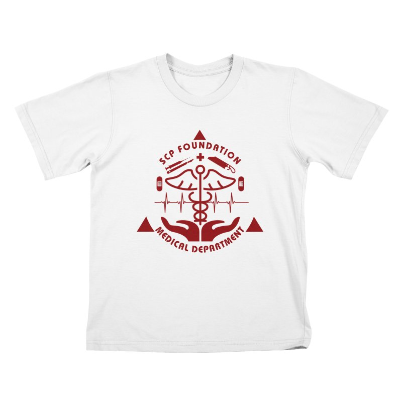 SCP Medical Department Kids T-Shirt by Find Us Alive Official Merch