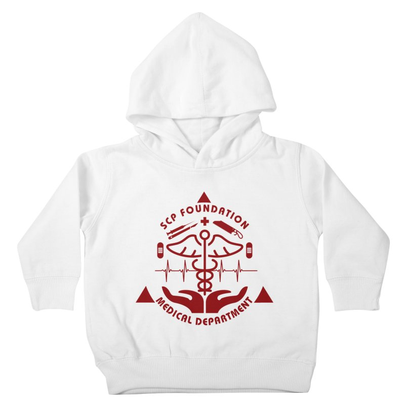 SCP Medical Department Kids Toddler Pullover Hoody by Find Us Alive Official Merch