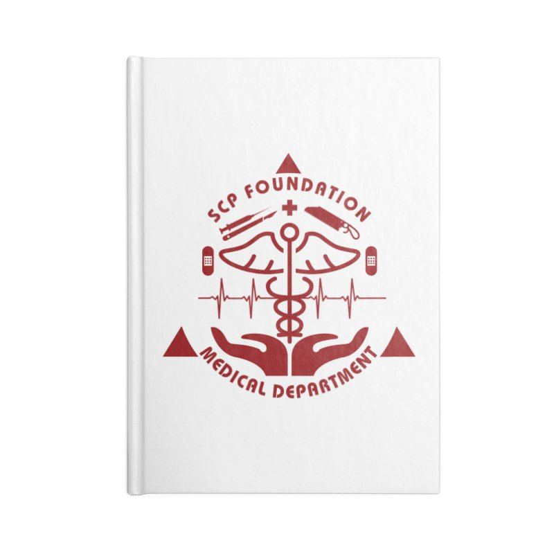 SCP Medical Department Accessories Notebook by Find Us Alive Official Merch