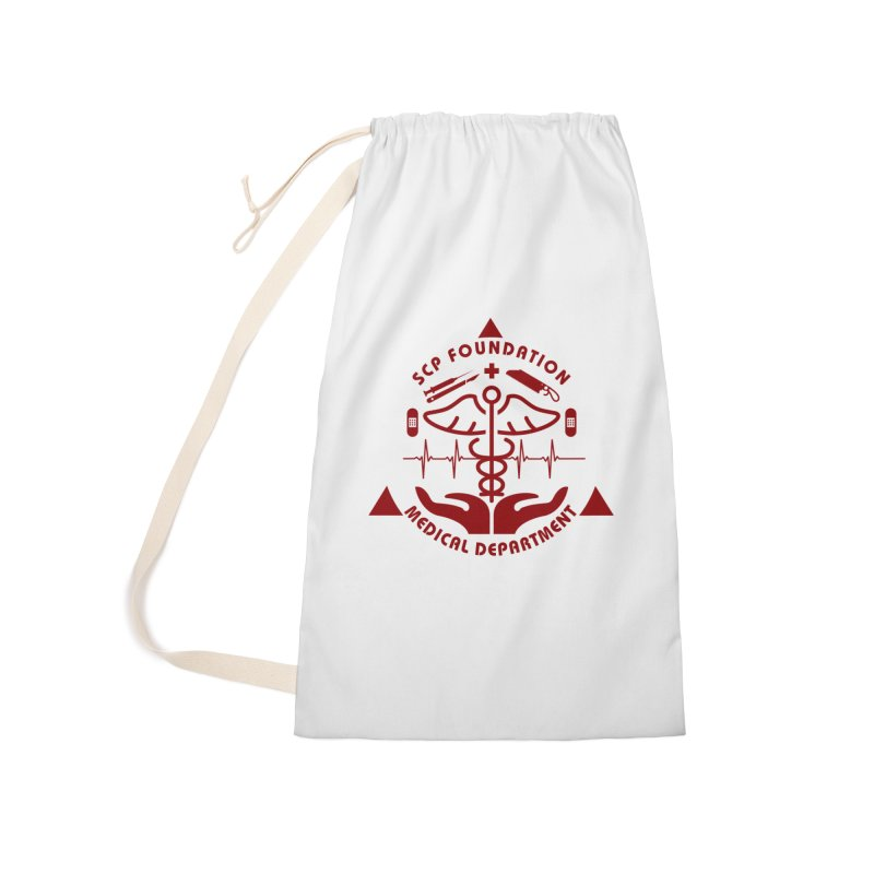 SCP Medical Department Accessories Bag by Find Us Alive Official Merch