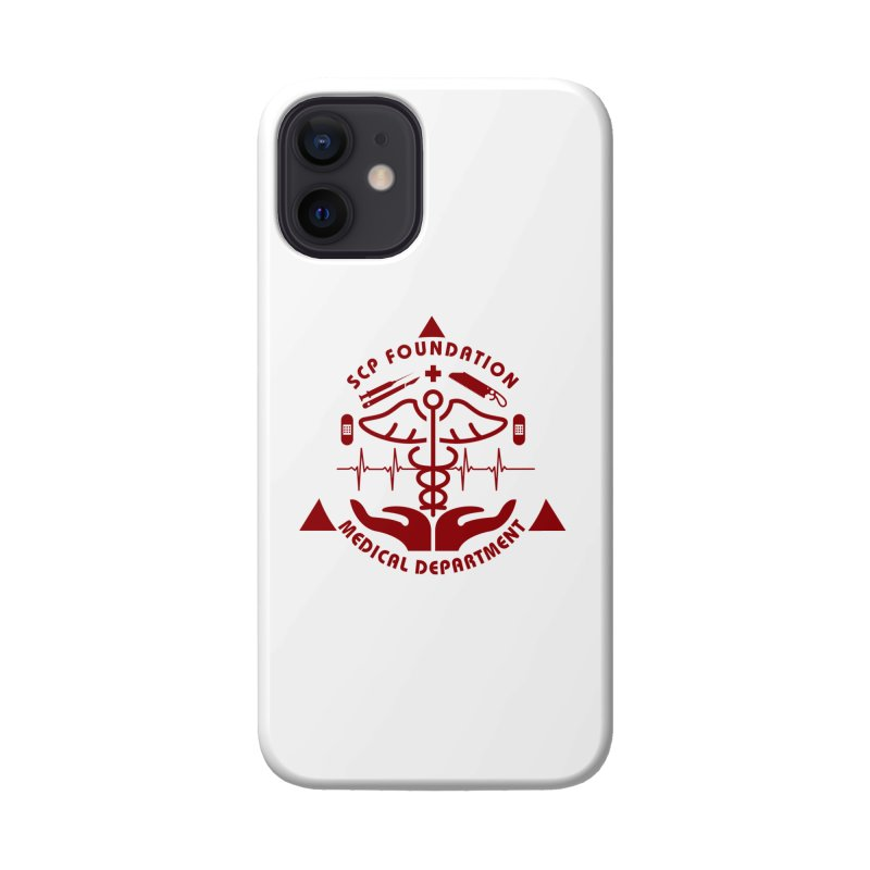 SCP Medical Department Accessories Phone Case by Find Us Alive Official Merch