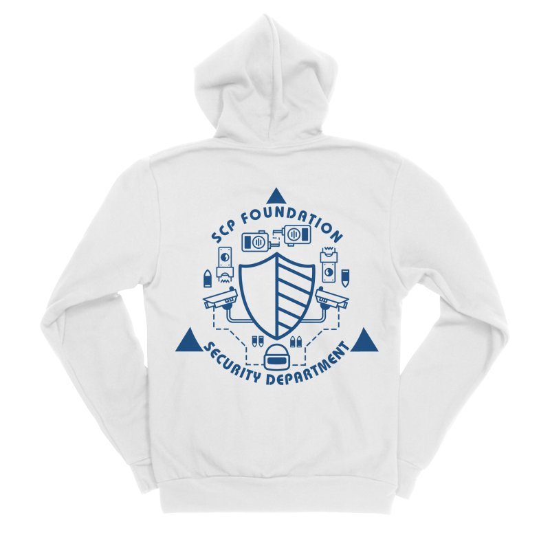 SCP Security Department Men's Zip-Up Hoody by Find Us Alive Official Merch