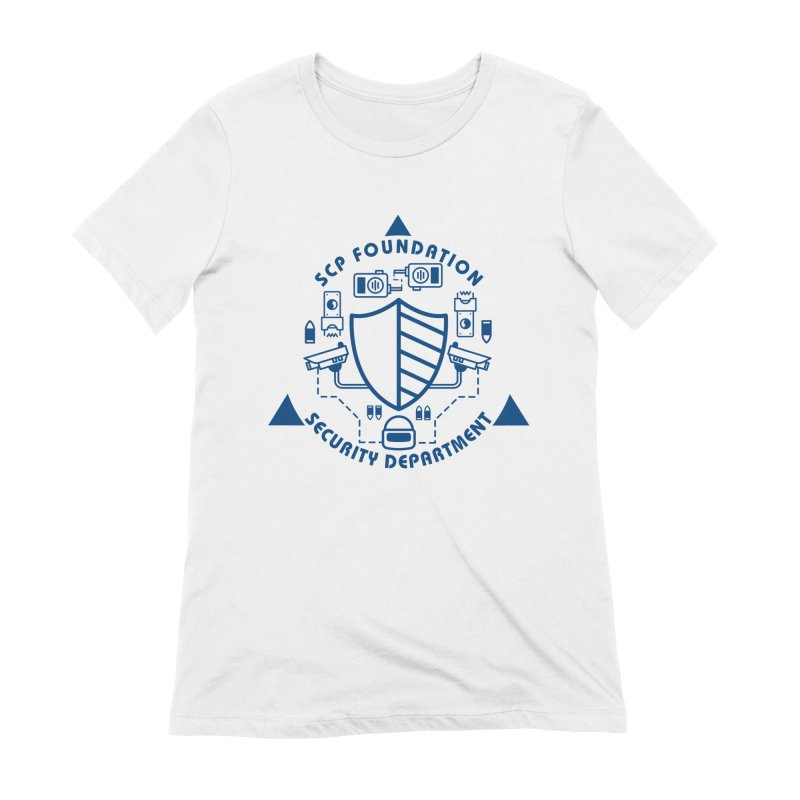 SCP Security Department Women's T-Shirt by Find Us Alive Official Merch