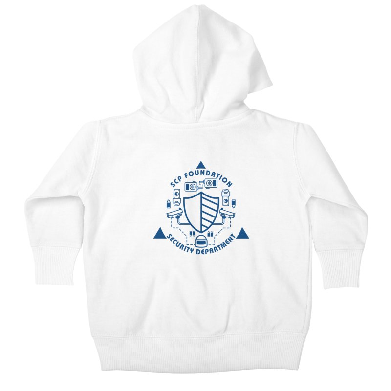 SCP Security Department Kids Baby Zip-Up Hoody by Find Us Alive Official Merch