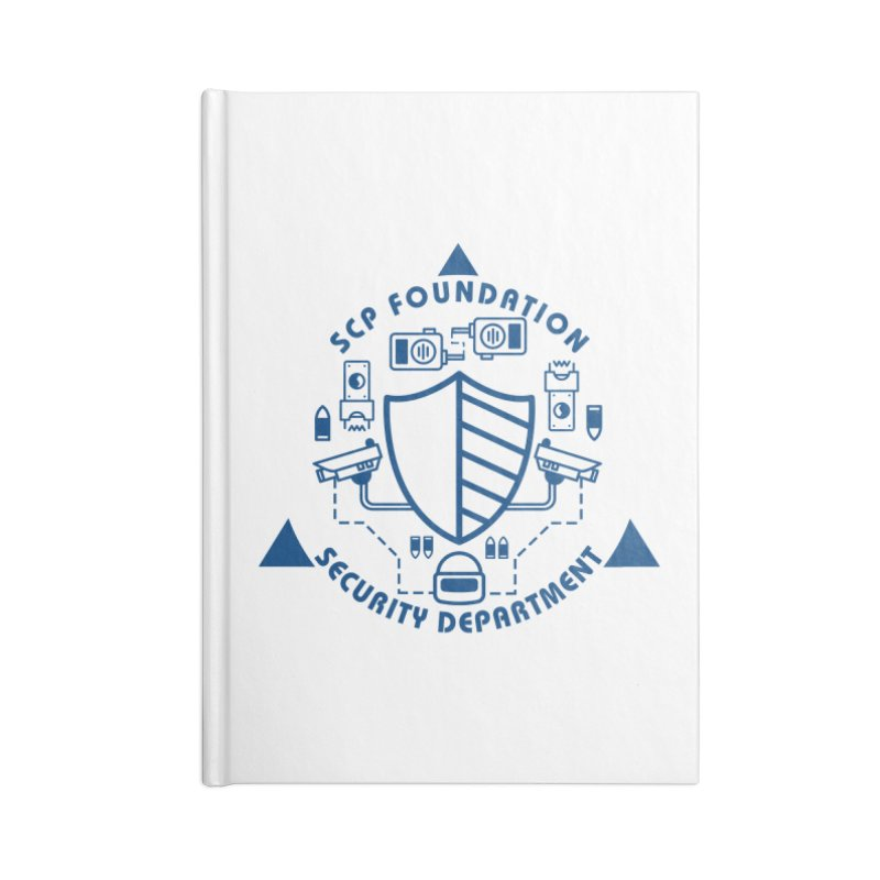 SCP Security Department Accessories Notebook by Find Us Alive Official Merch