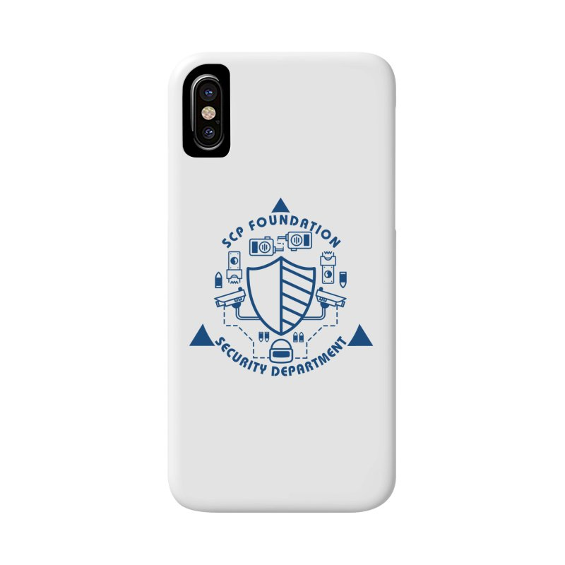 SCP Security Department Accessories Phone Case by Find Us Alive Official Merch