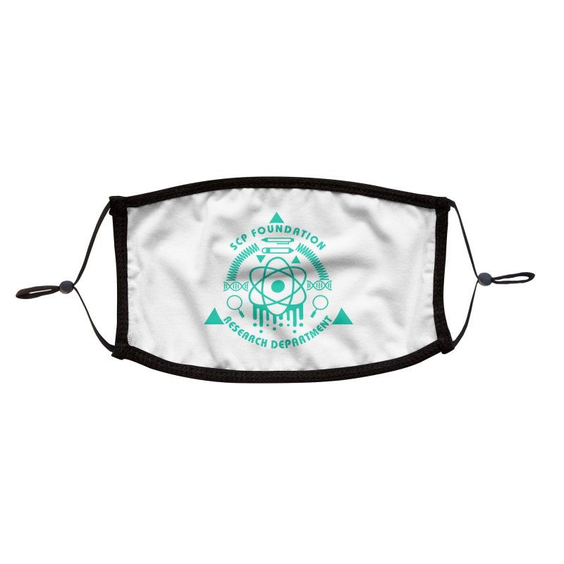 SCP Research Department Accessories Face Mask by Find Us Alive Official Merch