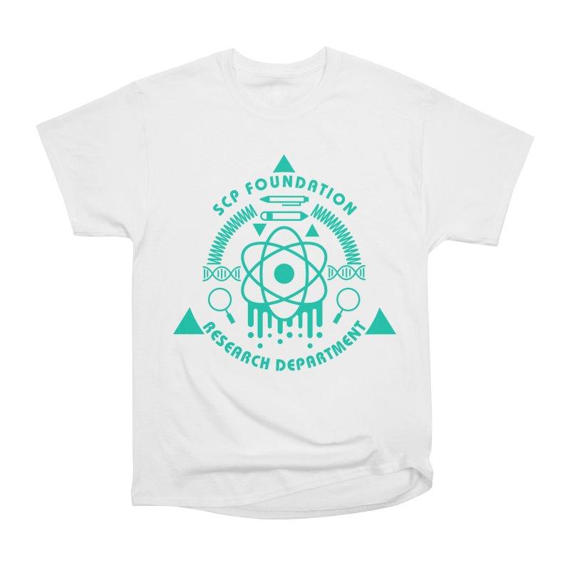 SCP Research Department Men's T-Shirt by Find Us Alive Official Merch