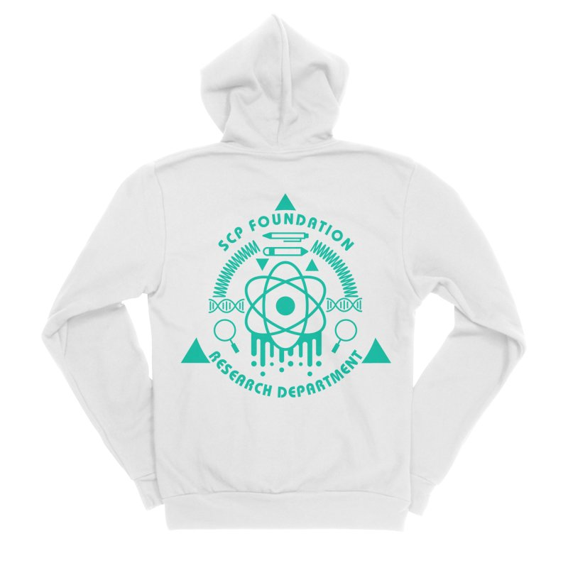 SCP Research Department Men's Zip-Up Hoody by Find Us Alive Official Merch