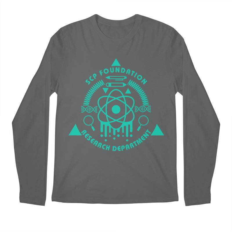 SCP Research Department Men's Longsleeve T-Shirt by Find Us Alive Official Merch