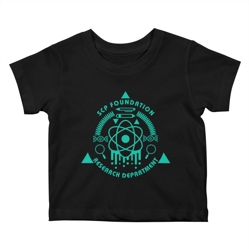 SCP Research Department Kids Baby T-Shirt by Find Us Alive Official Merch