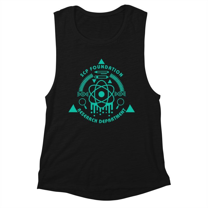 SCP Research Department Women's Tank by Find Us Alive Official Merch