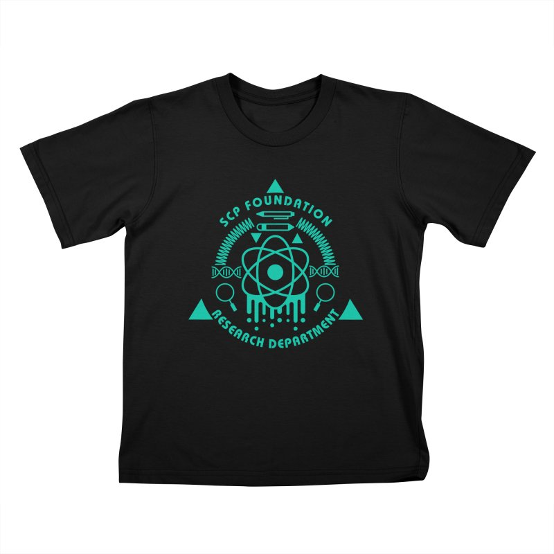 SCP Research Department Kids T-Shirt by Find Us Alive Official Merch