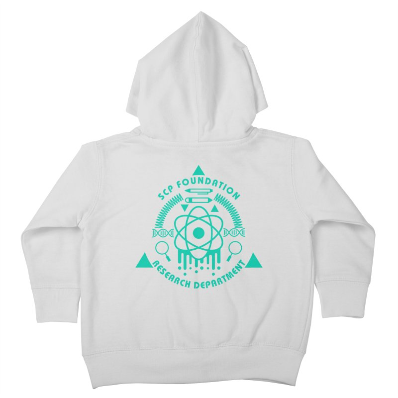 SCP Research Department Kids Toddler Zip-Up Hoody by Find Us Alive Official Merch